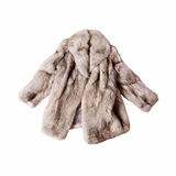 Fox fur coat Stock Images