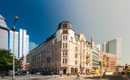 Frankfurt retro building Royalty Free Stock Photos