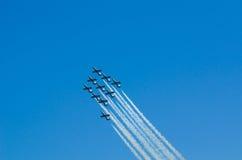 Frecce Tricolori Airshow Stock Images