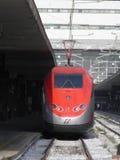 Frecciarossa highspeed train Royalty Free Stock Photography