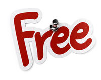 Free sticker Royalty Free Stock Photography