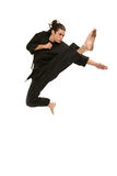 Freestyle Martial Artist Royalty Free Stock Image