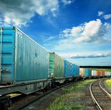 Freight cars Stock Photography