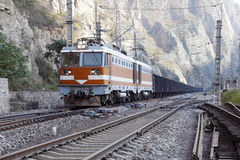Freight train. Stock Images