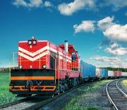 Freight train Royalty Free Stock Photo