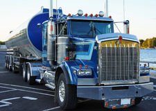 Freight truck ready Stock Photo