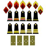 The French army insignia Stock Photography