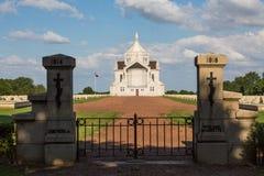 French military cemetery of Notre Dame de Lorette Stock Photo
