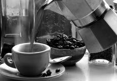 Fresh espresso Royalty Free Stock Image
