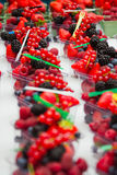 Fresh fruits and berry Stock Image