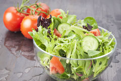 Fresh Salad Healthy Food Stock Photo