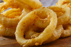 Fried onion rings Royalty Free Stock Image