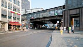 Friedrichstrasse Berlin, Germany stock video