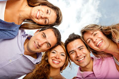 Friends bonding Royalty Free Stock Images