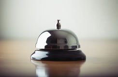 A service bell in a hotel Stock Photos