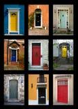 Front Doors Royalty Free Stock Photos
