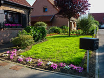 Front house garden Royalty Free Stock Image