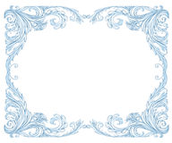 Frost frame Stock Photo