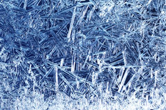 Frost on glass Royalty Free Stock Photos