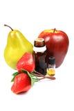 Fruit flavour concentrates Stock Images