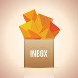 Full Inbox Stock Image