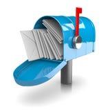 Full Mailbox Royalty Free Stock Image