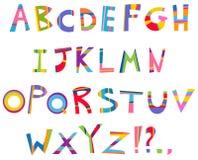 Fun alphabet Royalty Free Stock Photos