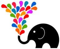 Fun elephant Royalty Free Stock Photos