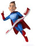 Fun superhero Royalty Free Stock Photo