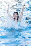 Fun at Swimming Pool Royalty Free Stock Photography