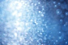Fundo azul abstrato da faísca Foto de Stock Royalty Free