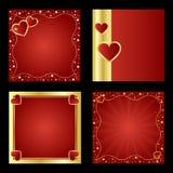 Fundos do Valentim Fotografia de Stock Royalty Free