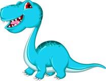 Funny Brontosaurus dinosaur Royalty Free Stock Photography
