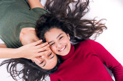 Funny Girl Friends Stock Image