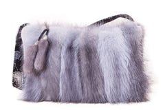 Fur bag Stock Images