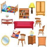 Furniture set Stock Photography