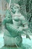 Göttin-Wasser-Brunnen Stockbild