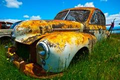 gammalt rostigt för bil Arkivfoton