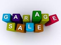 Garage sale Stock Photos