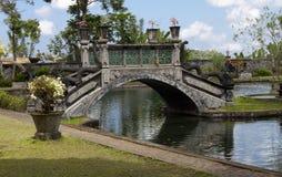 Garden bridge, bali Stock Photography