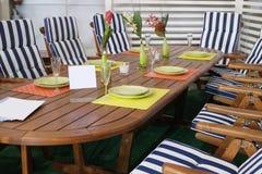 The Garden furniture Royalty Free Stock Photo