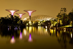 Gardens by the Bay Singapore Stock Photos