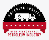 Gas industry design Royalty Free Stock Photography