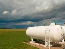 Gas tanks Stock Photos