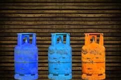 Gasflasche Stockfoto