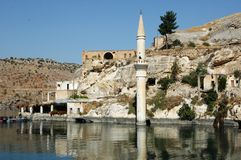 Gaziantep in the reservoir Stock Photo