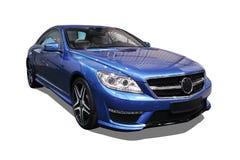 Geïsoleerde moderne auto, Mercedes-cl AMG Royalty-vrije Stock Fotografie