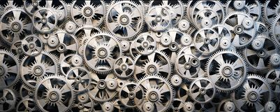 Gears and cogwheels Stock Photo