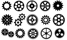Gears vector set Stock Images
