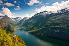 Geiranger Fjord (Norway) Stock Photos